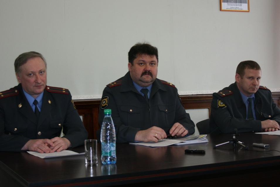 О.Храбрых, В.Ювковецкий, Е.Мудревский, ОВД