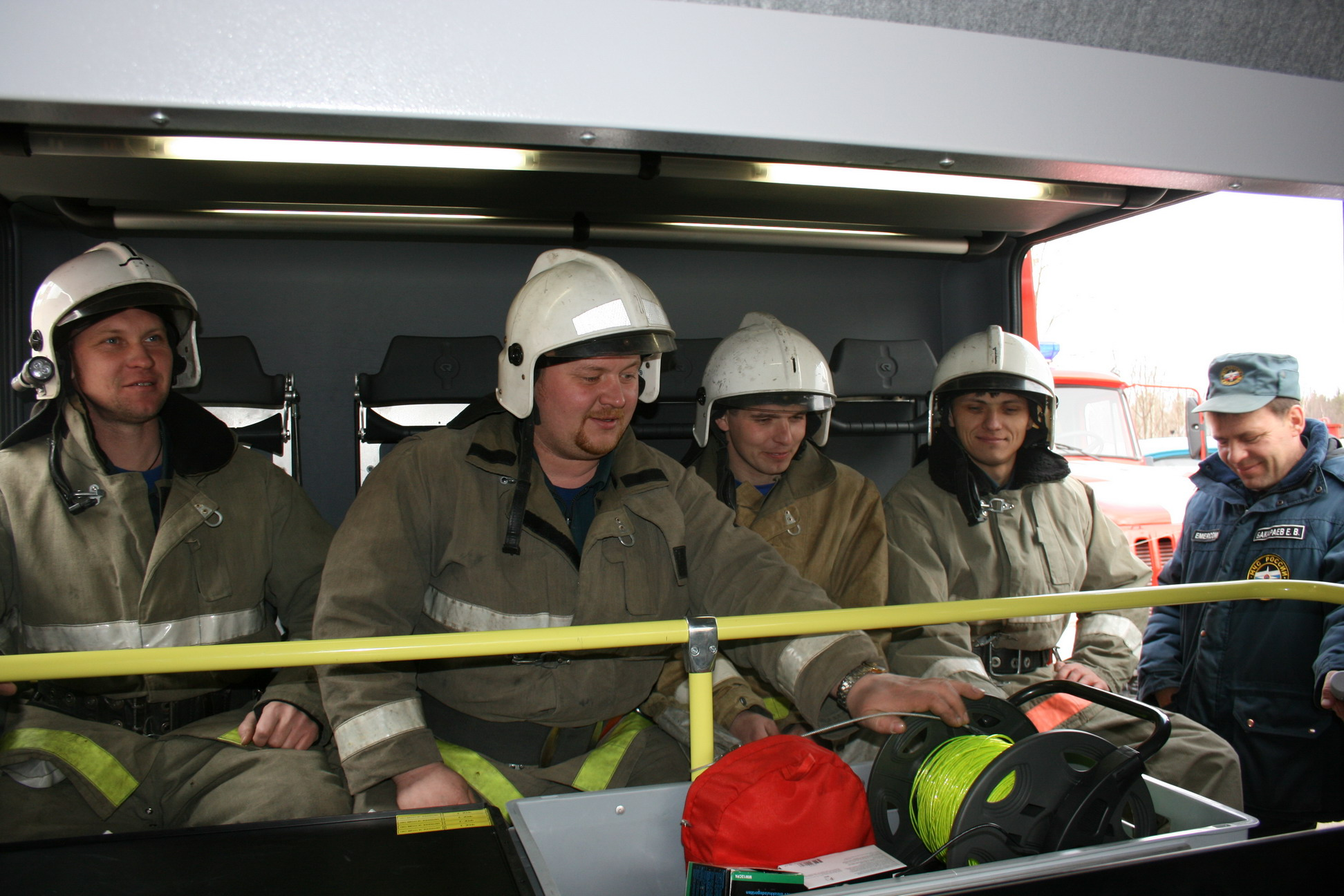 СУ ФПС №6 МЧС России, пожарные