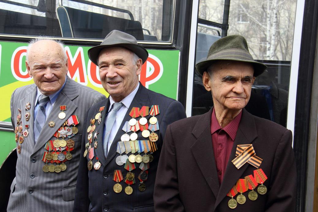 Ветераны двух городов