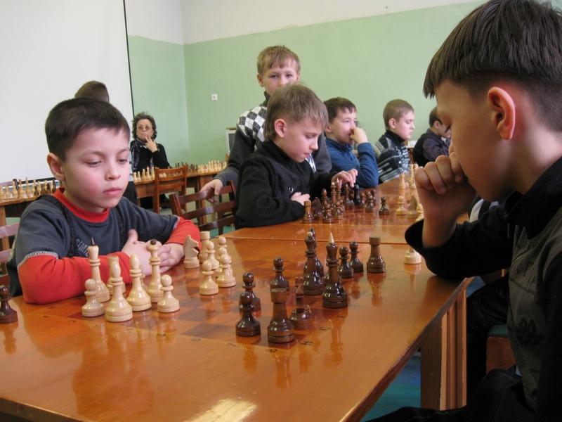 Турнир в шахматном отделении ДЮСШ 2011 г.