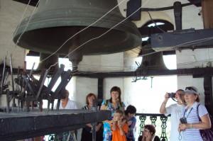 На колокольне Невьянской башни