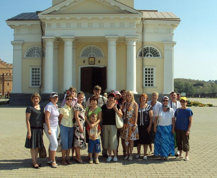 У входа в Спасо-Преображенский собор