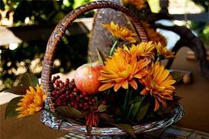 осень, букет