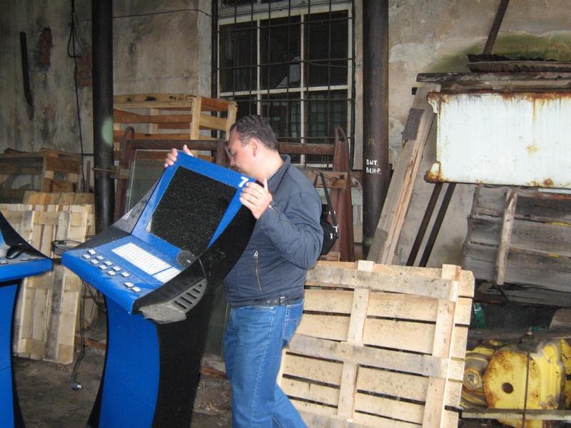 Идет ревизия конфискованных игровых автоматов