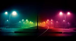 свет, улица