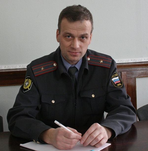 Майор милиции Вадим Елсуков