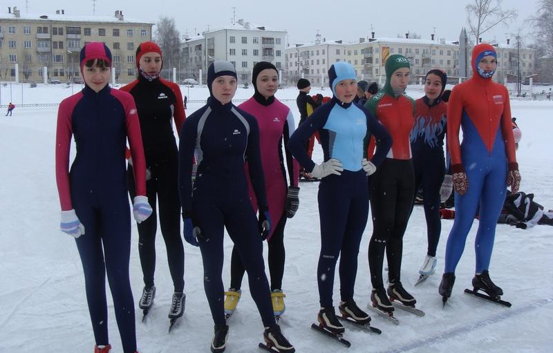 Юные надежды конькобежного спорта