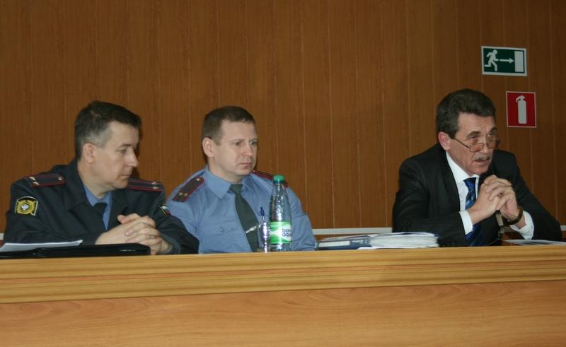 С.Рожков, Е.Мудревский и В.Румянцев
