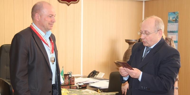 награждение почетным знаком главы города