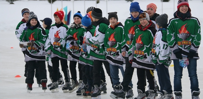 лед, каток, хоккей