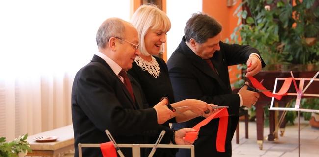 Открытие зала в ДМШ