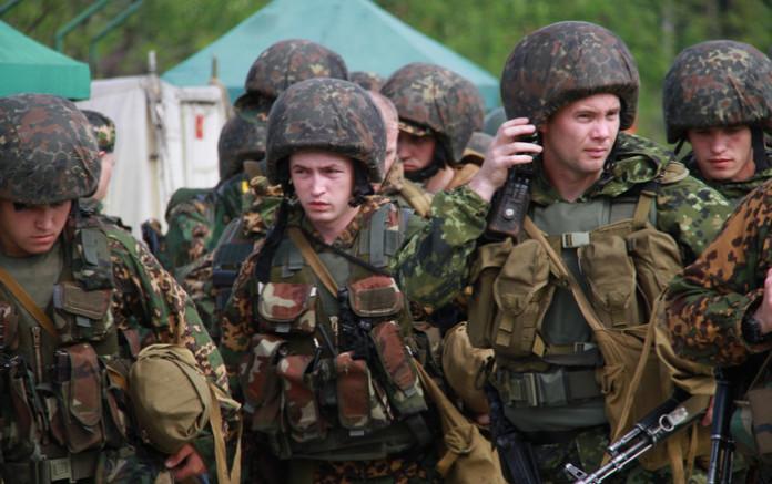 бойцы В/Ч 3275, г. Лесной