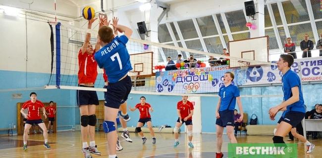 детский волейбол Лесной-Екатеринбург