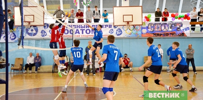 детский волейбол Лесной-Новоуральск