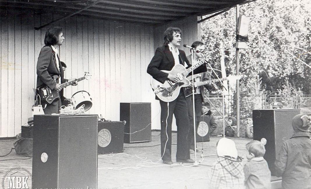 Агитплощадка Горизонт, ВИА отд 083, 1981 год