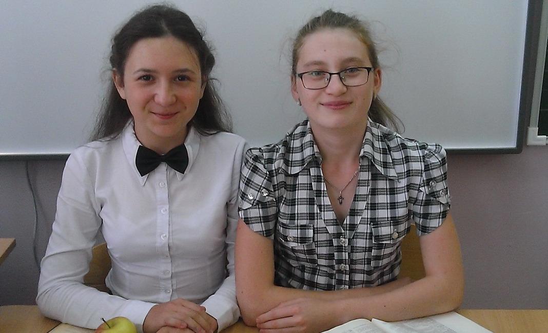 Карина ЗЕЗЯНОВА и Ольга КОМАРОВА