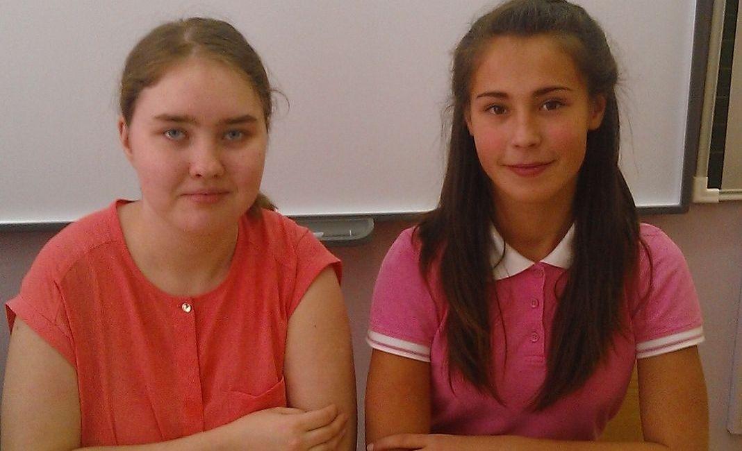 Карина Хамидова и Злата Ушакова