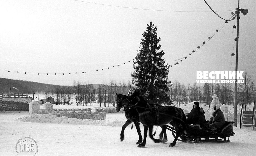 Елка около Пункта проката, 1972 г.