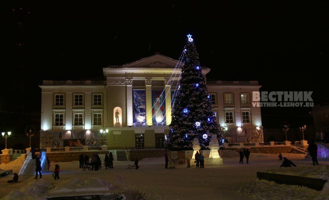 Новогодняя елка СКДЦ Соверменник