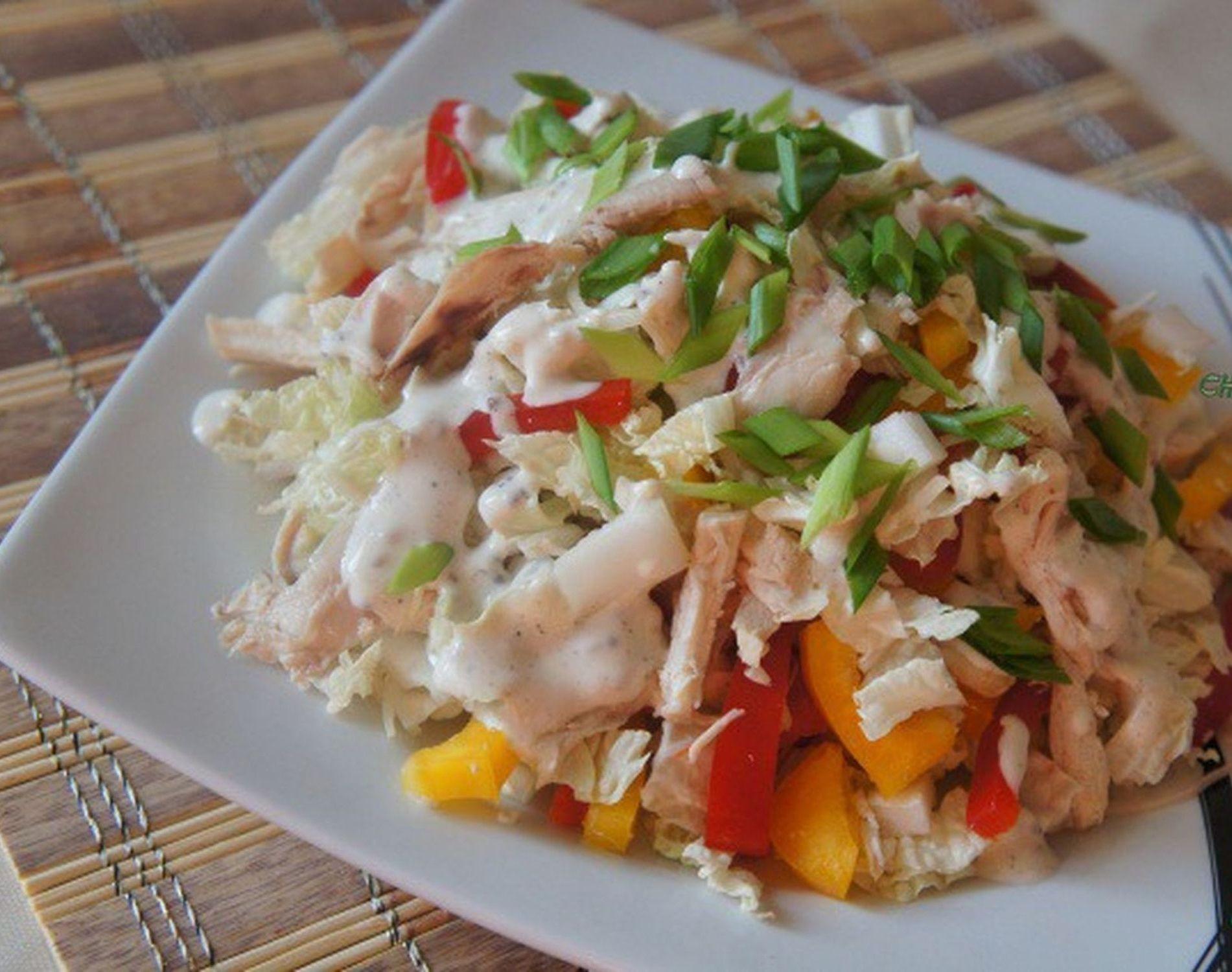 Салат курочка рецепт