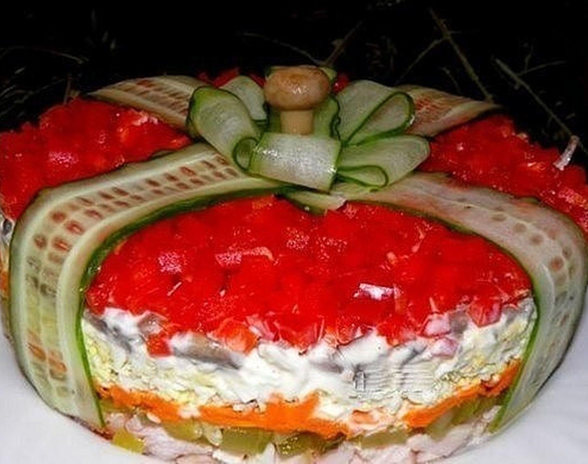 Рецепты оригинальных и простых салатов