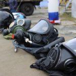 Выставка оборудования МЧС, ГО, гражданская оборона, противогазы