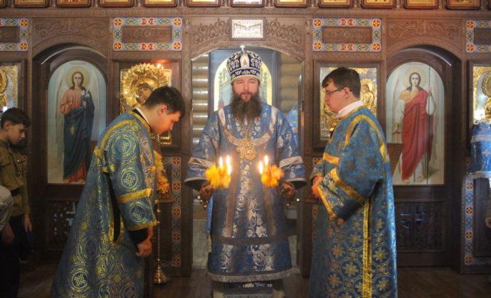 Евгений, епископ Нижнетагильский и Невьянский, визит в Лесной
