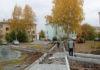 формирование комфортной городской среды, сквер за кинотеатром Ретро