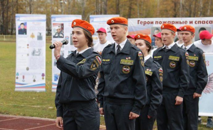 """Соревнования """"Спасатель"""" г. Лесной"""