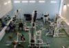 Фитнес зал, тренажерный зал, тренажеры