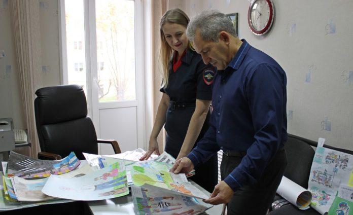 Общественный совет при ОМВД Лесного подвёл итоги конкурса «Полиция глазами детей»
