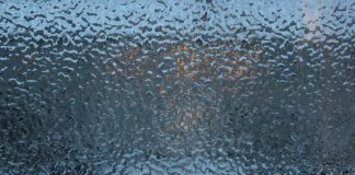 стекло, лед, ноябрь, замерзшее окно