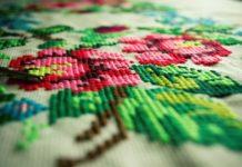 вышивка крестиком, рукоделие, handmade