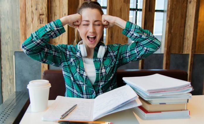 девушка, школьник, студент, учёба, экзамены