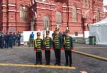 Музыканты-духовики оркестра «Глория»