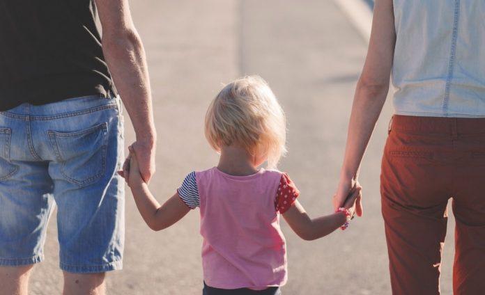 семья, ребенок, родитель, дети,