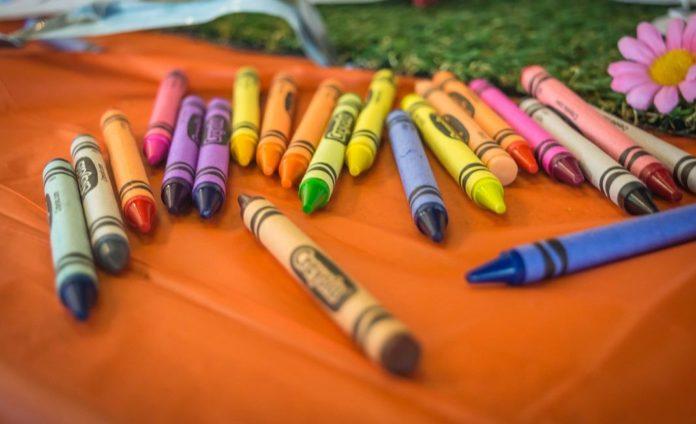 карандаши, рисунок