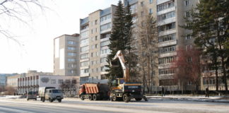 Ленина, открытие дороги