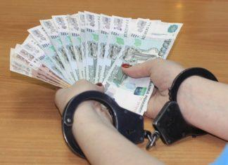 коррупция, деньги, наручники, взятка