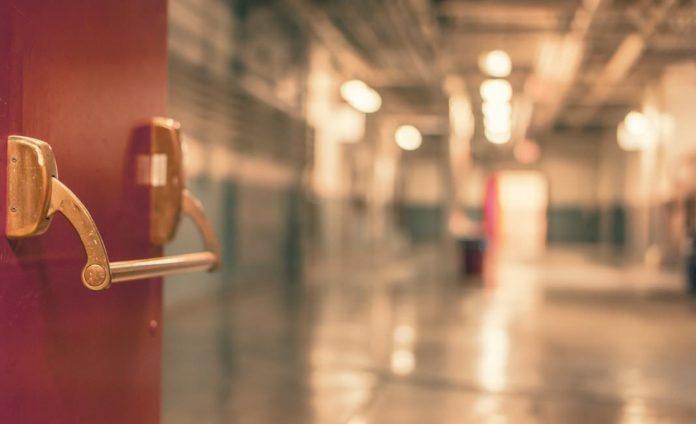 дверь, больница