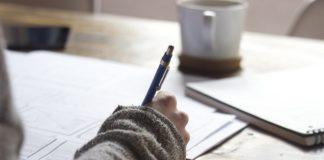 ручка бумага