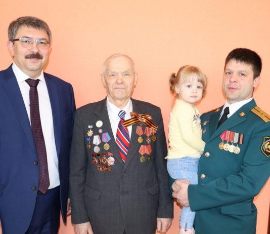 75 лет Победы вручение памятных медалей